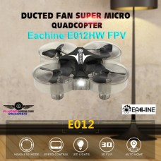 Eachine E012HW FPV Mini 6 Axis Headless Mode LED Light RC Quadcopter RTF