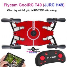 GoolRC T49 (JJRC H49) Ultra thin 720P Wifi Auto Foldable Arm Quadcopter