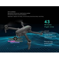 Super flight time drone - Hubsan Zino Pro+ with 43 minutes