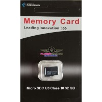 32GB U3 Class 10 Micro SD card with high speed up to 90MB/s